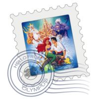 ariel mail stamp by screaM4Dolls
