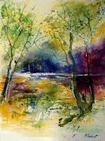 watercolor 908010 by pledent