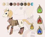 Steampunk Pony OTA [OPEN] by Linkage92