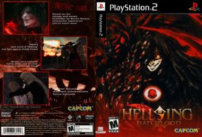 Hellsing PS2 Cover by Nox-dl