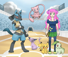 Pokemon Trainer by LuciaSeriin
