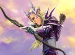 Commission WOW Blood Elf by Entar0178