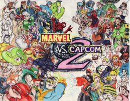 Marvel vs Capcom 2 by viperxmns