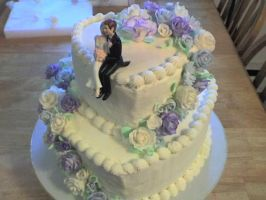 Wedding Cake by nikki12390