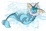 Vaporeon by SeviYummy