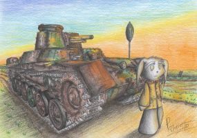 Type 97 Chi-Ha Tank by Patoriotto