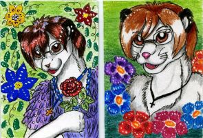 ACEO for Suane by GreyCatFelis