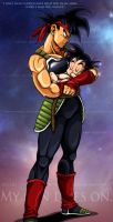 Dragonball Z - Bardock by TimothyJamesF