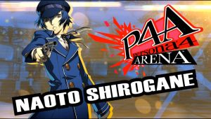 Naoto Shirogane from Persona 4 Arena by TimothyB25