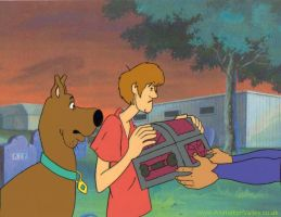 Scooby Doo Production Cel by AnimationValley