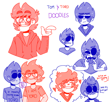 Tom and Tord Doodles by Chioco