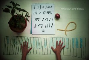 If I were a musical instrument, I would be a Piano by M4fotos