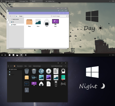 W10 Day and Night Visual Styles by ayychloe