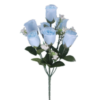 Artificial-baby-blue-roses-7-rosebuds by jasminwtf