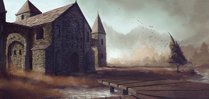 Monastery by 6Noodle9