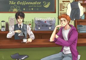 Commission - Harry and George by Heldrad