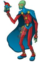 Martian Manhunter Redesign 2 by superleezard