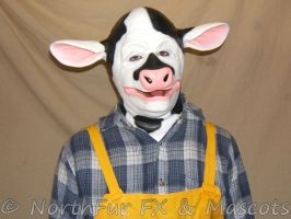 Cow Mask by sjgarg