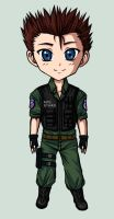 Collect-a-Bishie_ChrisRedfield by IrisHime