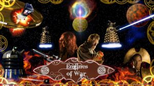Doctor Who - 'Engines Of War' Wallpaper by VortexVisuals