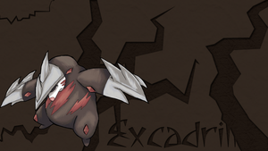 Excadrill wall by Eru-88