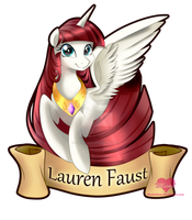 Lauren Faust by mimijuliane