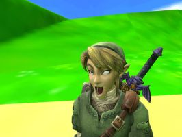 funny faced Link Gmod by SpongicX