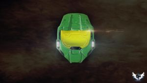 Master Chief Helmet by RikenProductions