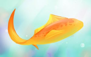 Orange fish by Jellyka
