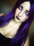 Morgana Makeup test from LoL by Dragunova-Cosplay