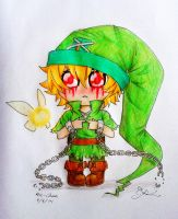 I think my hat's a little too big :( [BEN Drowned] by Tsukiakari-Aya