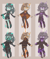 :Adopts: Neon demons CLOSED by BlackMayo