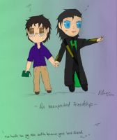 Unexpected Friendship//coloured by PlumMuffins