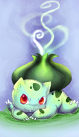 Bulba-saaur by Foxeaf