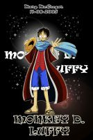 OnePiece:MonkeyD.Luffy by Mary-McGregor
