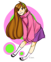 Commission: Mabel by jellyfishtomi