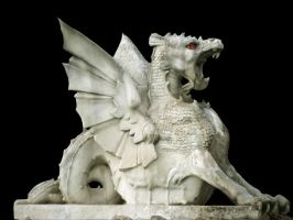 Dragon Sculpture by FukkY