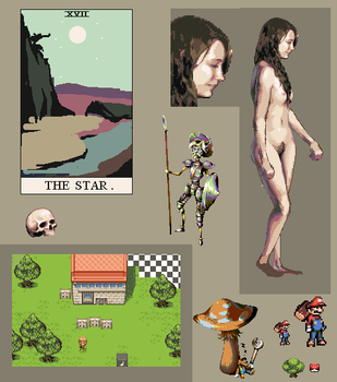 Pixel dump 2011 by Thelxion