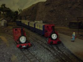 The Old Gentlemen of the Skarloey Railway by GreatEastern1856