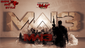 MW3 Wallpaper 3D by GFX-ZeuS