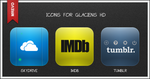 Extra Glaciens HD Icons Pack 6 by Mr-Evo