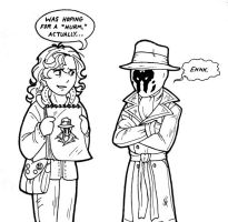 Rorschach n' Me-- The Critic by AetheriumDreams