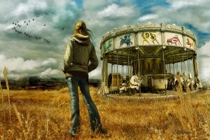 The Last Carousel by DWilsonArtCreations