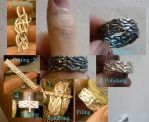 Braided ring of Eclive by fairyfrog