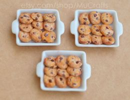 dollhouse cookie trays by BadgersBakery