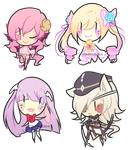 Dollie Chibi Batch 6 by toastilie