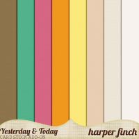 Yesterday and Today Card Stock by Harper Finch by harperfinch