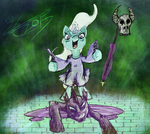 Trixie the Great and Powerful Changelamancer by LiraCrown