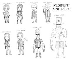 Resident One Piece by Empty-Smile