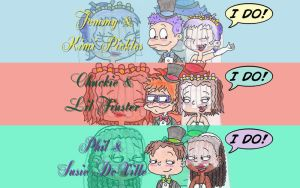 The Rugrats' 'I Do's Wallpaper by nintendomaximus